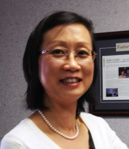 Acupuncturist Jane Liu